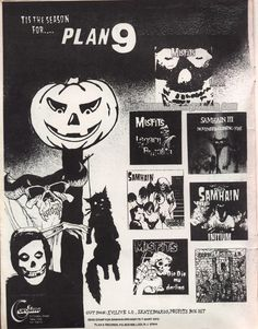 Plan 9 putting out misfits & samhain Rock Posters, Concert Posters, Music Posters, Misfits Band, Danzig Misfits, Glenn Danzig, Metal Albums, Love Band, Rock Design