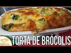 Torta de Brócolis Low Carb - Low Carb e Fit Tortas Low Carb, Torta Recipe, Low Carb Recipes, Quiche, Brunch, Healthy Eating, Cooking, Breakfast, Ethnic Recipes