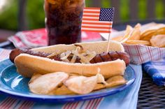 Como cocinar seguro y saludable para la Día de Memoria para los Soldados Caídos: http://1.usa.gov/1Lh2boB.