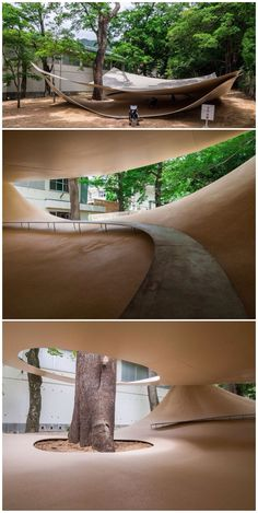 Fukita Pavilion, by Ryue Nishizawa, Kagawa, Japan