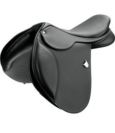 Bates Caprilli Close Contact - The Bates Caprilli Close Contact saddle offers a supportive seat for the rider to ensure safe, comfortable landings.