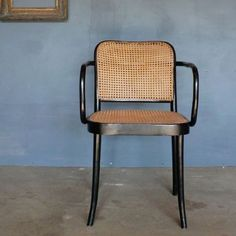 The THONET chair 100% natural woven cane seat and back Teak wood frame Handmade Please note, orders for our FEB 2017 delivery have SOLD OUT....