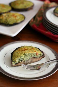 Spinach Artichoke Mushroom Quiches | Menus Kitchen PLAY