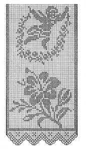 Resultado de imagem para toalha de mesa de barbante quadrada passo a passo
