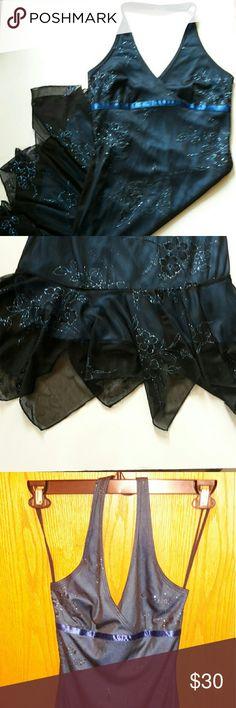 Taboo halter dress Beautiful taboo halter dress fully lined Taboo Dresses Backless