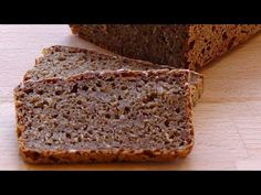 """Danes typically eat this type of dark sour rye bread at least once a day. It is our """"national bread"""". We eat it mainly as open sandwiches with spreads and charcuterie. This is a simple but good recipe for rye bread. Danish Rye Bread, Danish Food, Best Whole Grain Bread, Rye Bread Recipes, How To Make Dough, Bread Alternatives, High Fiber Foods, Diabetic Recipes, Good Food"""