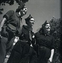 Tres milicianas (Gerda Taro, 1910-1937)