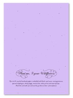Shop elegant wedding Invitations on lavender Seeded Paper. Perfect for a vintage courtyard castle, having a royal theme wedding with an eco-chic theme. Lavender Wedding Invitations, Typography Wedding Invitations, Vintage Wedding Invitations, Elegant Wedding Invitations, Miami Wedding Venues, Luxury Wedding Venues, Wedding Catering, Inexpensive Wedding Venues, Romantic Moments