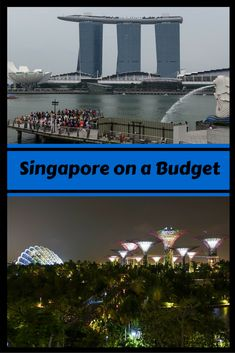 Heading to Singapore but you are on a budget?  We have lots of tips for you to travel Singapore on a budget. #budgettips #singapore