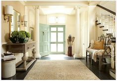 Foyer and Entry Design Amy Vermillion Interiors Charlotte NC