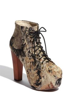 love these shoes. they are so me and SO fab. have them in a tan leather too. #jefferycampbell  #cattapestry #lita