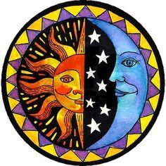 sun and moon drawing - Buscar con Google