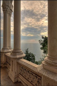Miramare Castle, Bay of Grignano, Trieste, Friuli-Venezia Giulia region of Italy. Just outside of Trieste, Italy - my mother's hometown. Aesthetic Photo, Travel Aesthetic, Aesthetic Pictures, Beige Aesthetic, Camping Aesthetic, Aesthetic Boy, Trieste, Famous Castles, Beautiful Architecture