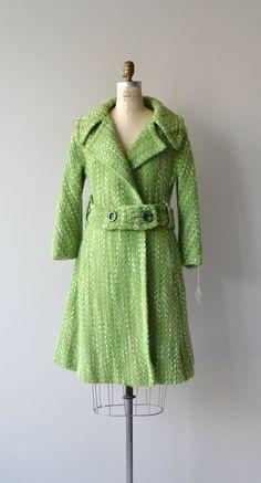 Jackson Avenue mohair coat 1960s wool coat vintage by DearGolden