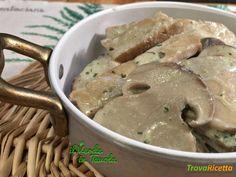 Spezzatino vegano di seitan ai funghi porcini  #ricette #food #recipes