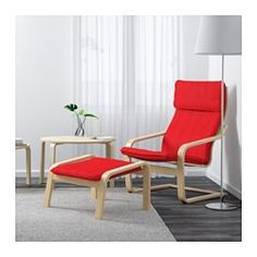 IKEA - POÄNG, Chair, Ransta natural, , Layer-glued bent birch frame gives comfortable resilience.The cover is easy to keep clean as it is removable and can be machine washed.To sit even more comfortably and relaxed, you can use the armchair together with a POÄNG ottoman.A variety of seat cushion designs makes it easy to change the look of your POÄNG chair and your living room.The high back provides good support for your neck.10-year limited warrranty. Read about the terms in the limited…