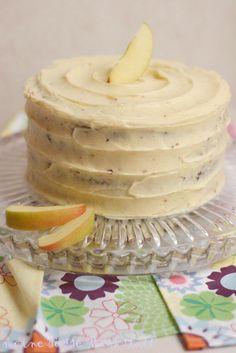 meine süsse werkstatt: Apfel-Zimt-Torte mit gebräunter Butter oder Turmba...