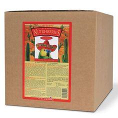 Lafeber El Paso Nutri-Berries Parrot (20 lb Box) - FREE SHIPPING
