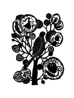 beauty.    PRINT from one of my original papercuts by elsita on Etsy, $25.00