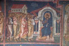"BLAGO   BLAGO : Decani : 50 Jesus to Simon Peter: ""Feed my sheep"" (third appearance to the apostles)"