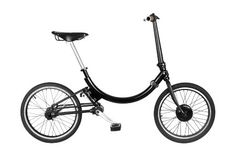 This is a most awesome electric bike, and it totally folds up for transit-friendly commuting.