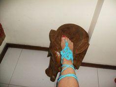 Pulseira de pé ou mão