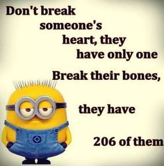 Even the Minions know!Haha