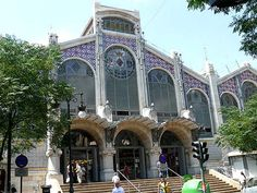 Used to walk by the Mercado central daily