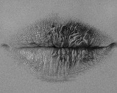 Surreale Lippen von Christo Dagorov
