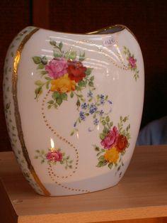 Peinture sur porcelaine - Vase moderne : Album photo - aufeminin.com : Album photo - aufeminin.com - aufeminin