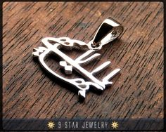 Sterling Silver Baha'i Pendants from 9 Star Jewelry #bahai #9starjewelry