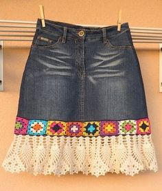 denim crochet skirt (3)                                                                                                                                                                                 Más