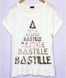 bastille flower t shirt