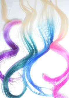Ombre Hair Extensions / U Choose Your Colors / by ArtisicStrands