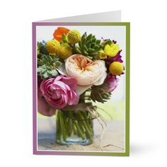 "We will send this physical ""Floral Bouquet"" Hallmark card to your recipient for you. It delivers all the impact of traditional Hallmark cards and then adds to that experience by allowing you to personalize the greeting with your own photo with caption, video, text or audio message that the card recipient can hear/view"