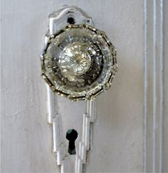 Crystal clear door knobs..... ~ Amore, Linguine and Me