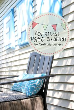 DIY Covered Patio Cushions