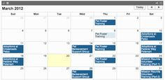 Regional Animal Services of King County keeps their pet events calendar in an open data format, which not only shows on our Website but allows animal groups to incorporate our calendar into their Websites.