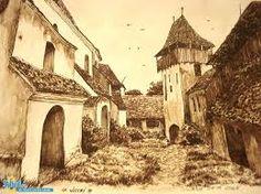 Imagini pentru sibiu poze vechi Barcelona Cathedral, Medieval, Painting, Art, Drawings, Romania, Art Background, Painting Art, Kunst