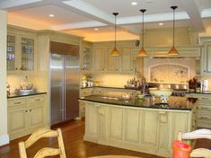 Design Ideas For Hanging Pendant Lights Over A Kitchen Island - Kitchens with pendant lights