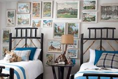 Paint By Number   Bedroom   Country Living Magazine