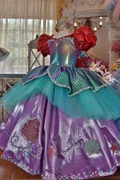 20 Mejores Imágenes De Vestido De Ariel En 2019 Traje De