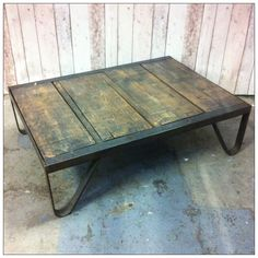 Factory Coffee Table