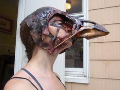 bird skull complete worn by Vagabond Jewelry (Kest), via Flickr
