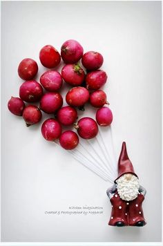 Radish balloons