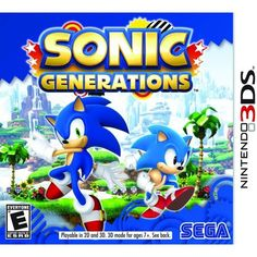 Sonic Generations for Nintendo - Nintendo Game Details Xbox 360, Playstation, Sonic The Hedgehog, Star Citizen, Microsoft Windows, Free Sonic, Play Sonic, Sonic Sonic, Nintendo 3ds Games