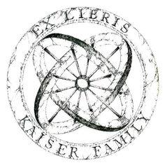 Ex Libris of Kaiser family - Alex Kaiser (kishlahar)