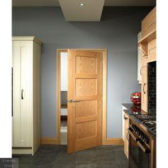 The Internal Oak Shaker Fire Door is a high quality door from the MODA Doors collection. Veneer Door, Yellow Front Doors, Oak Doors, Shaker Doors, Contemporary Doors, Fire Doors, Internal Doors, Kitchen Doors, Sliding Glass Door