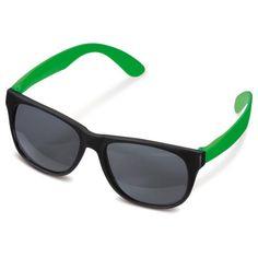 b0838ea6f9edf2 Vrolijk en modieuze zonnebril met gekleurde pootjes. Leuk en goedgeprijsde  gadget!  Festival  Event  Zon  Zomer