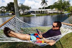 Care to enjoy a relaxing afternoon on a hammock? We do.